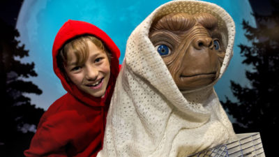 E.T. is Human from the Future